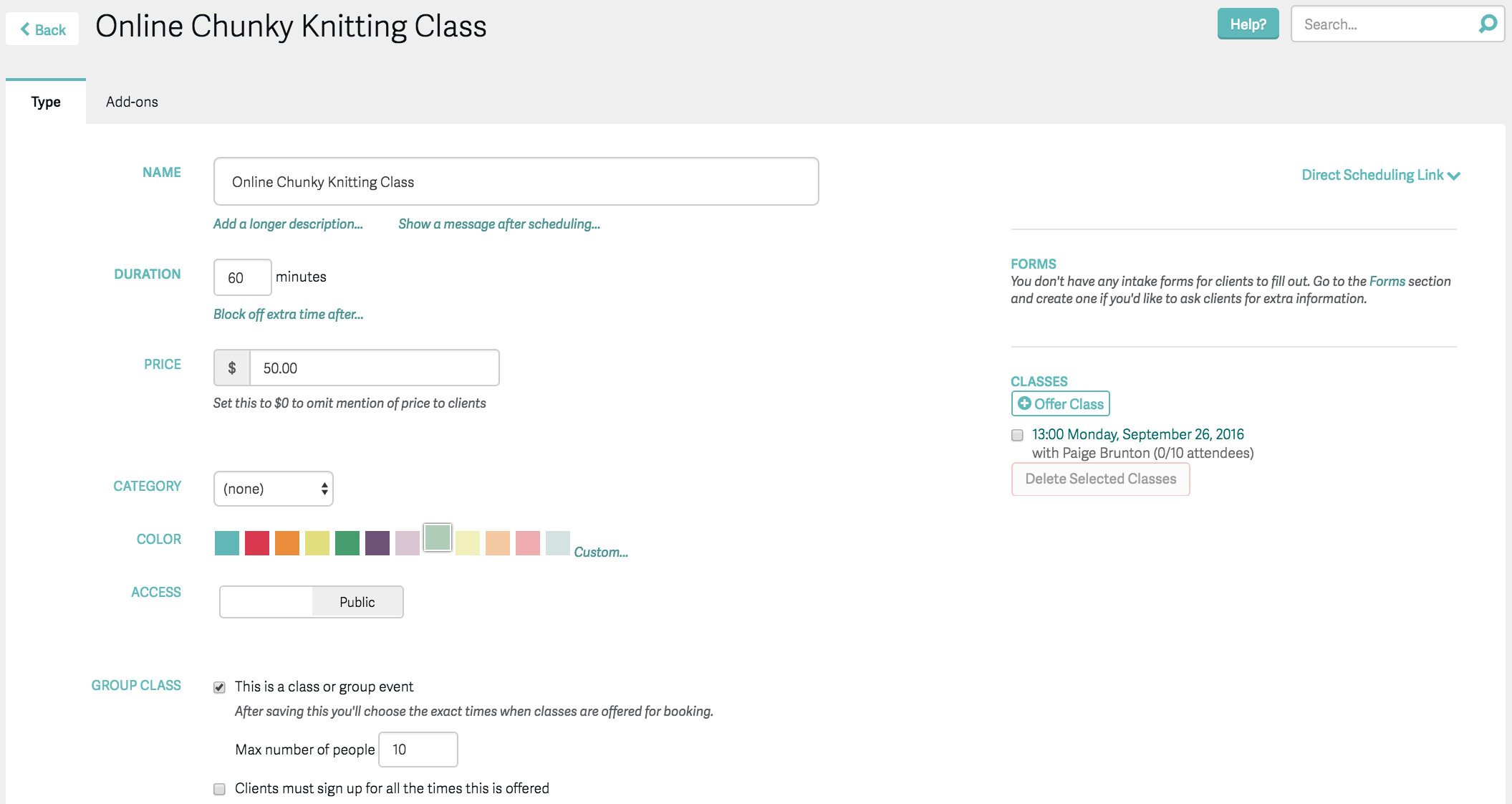 how to schedule group online classes with Acuity and Squarespace.png