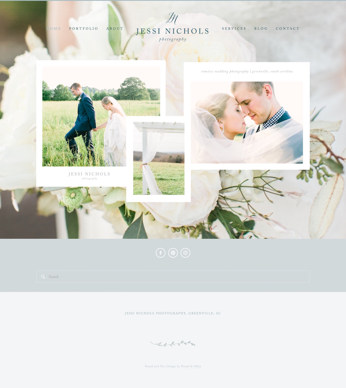 10 best example Squarespace websites • photographer edition