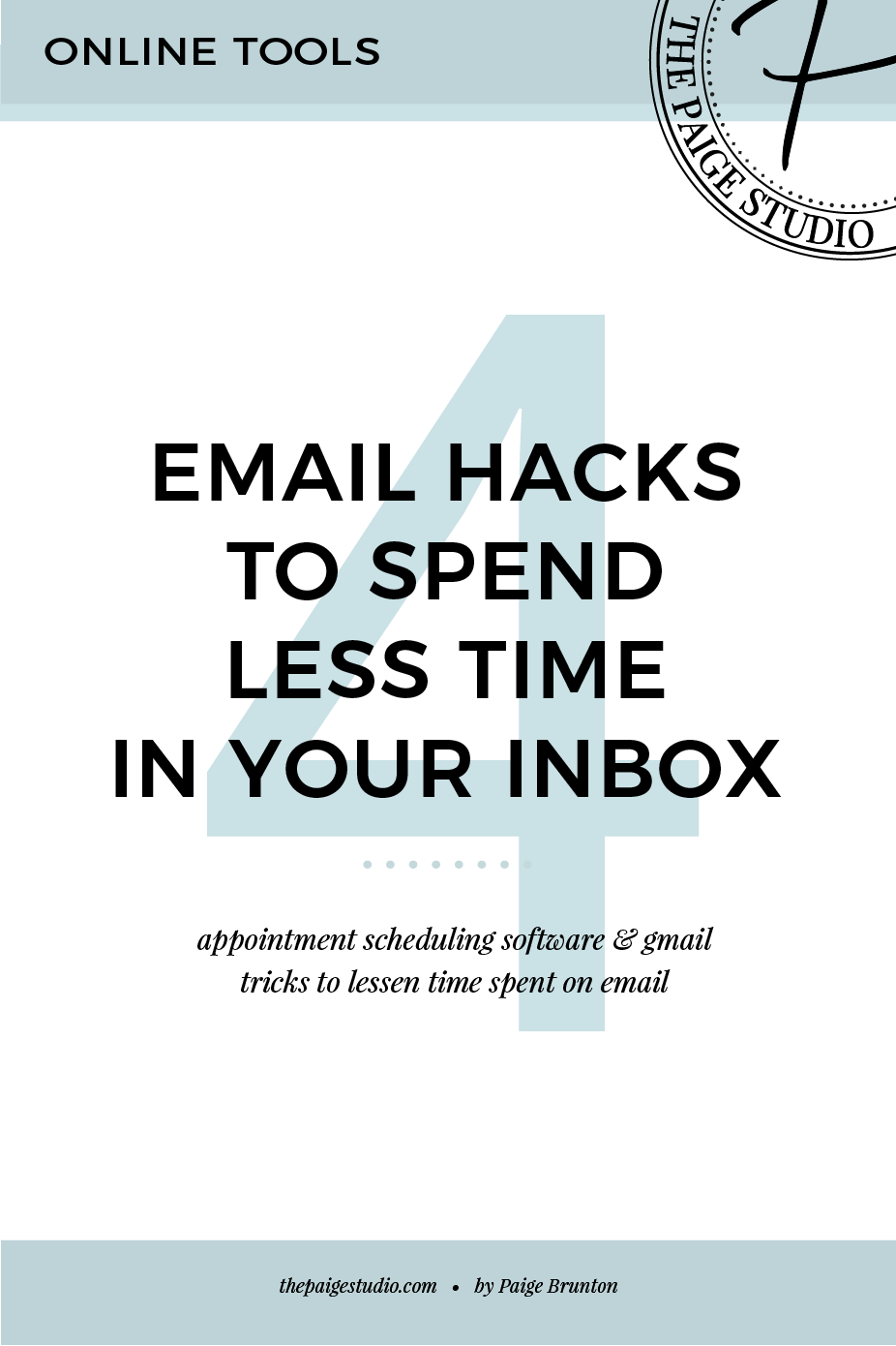 Time-saving hacks for email