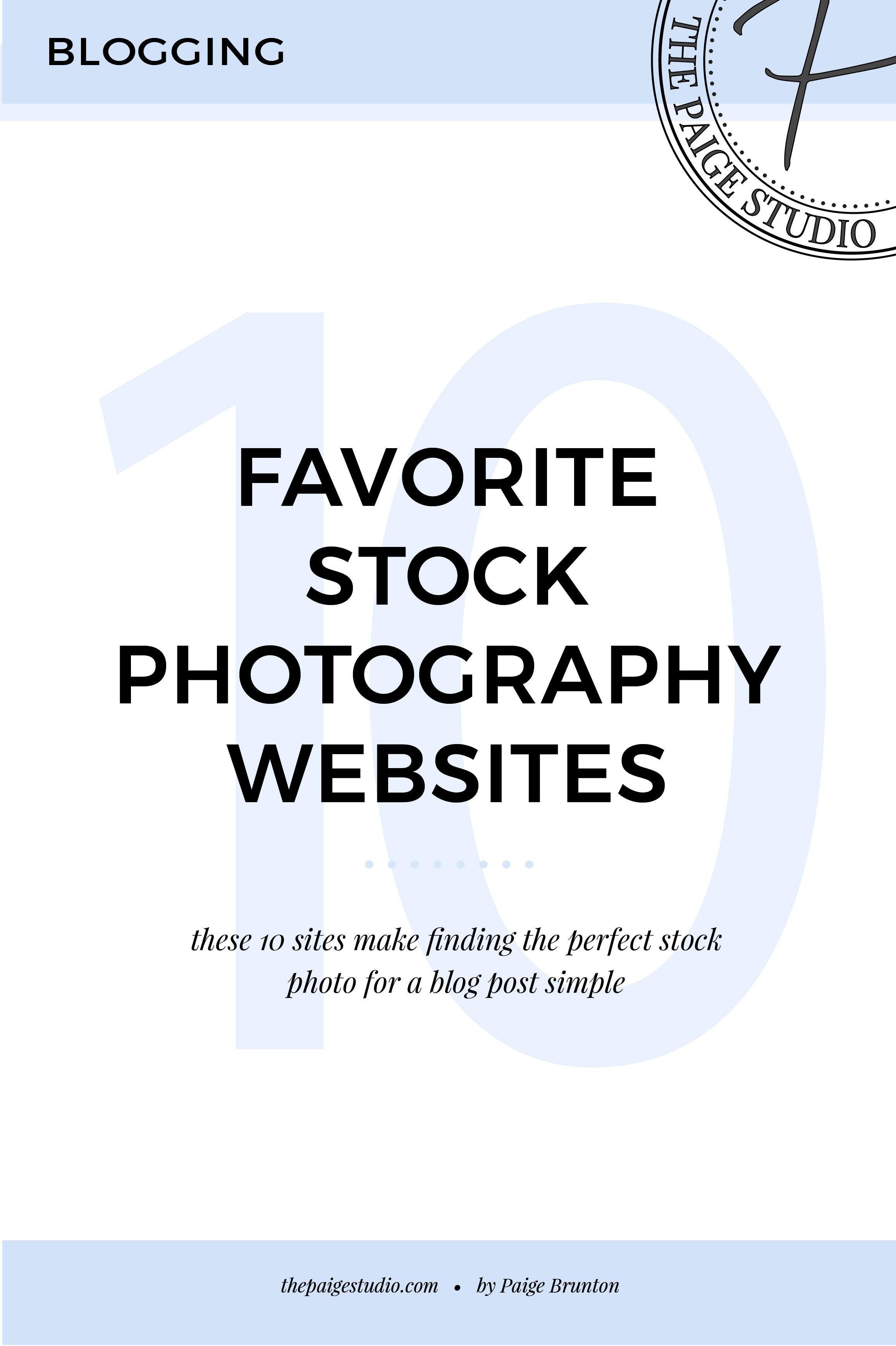 Saving For Later: 10 Guaranteed No-Fuss Stock Photography Websites