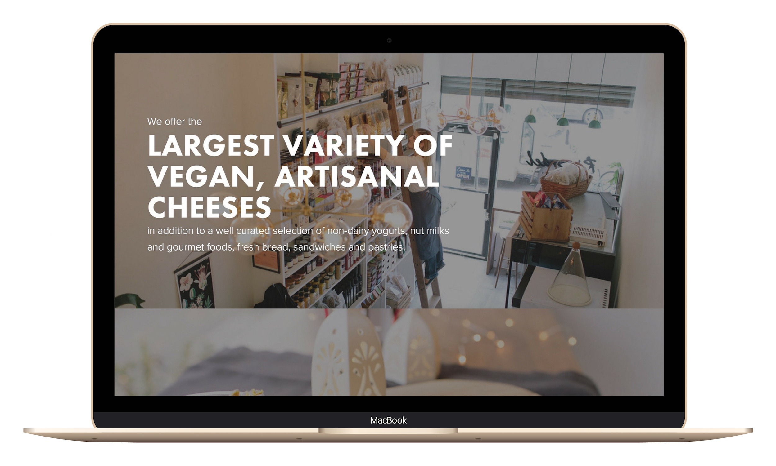 homepage of a vegan cheese shop made with squarespace.jpg