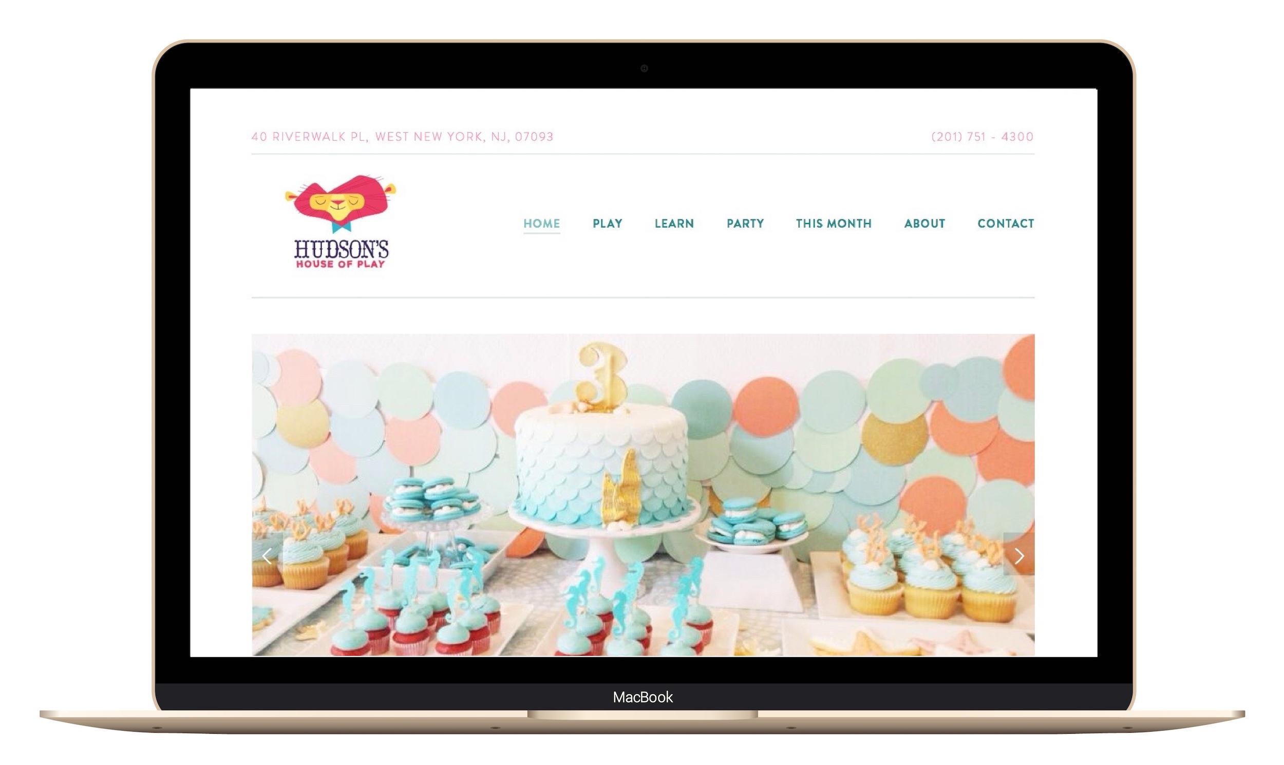 Squarespace custom website design for Hudsons House of Play.jpg