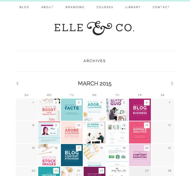 img via  Elle & Company Design