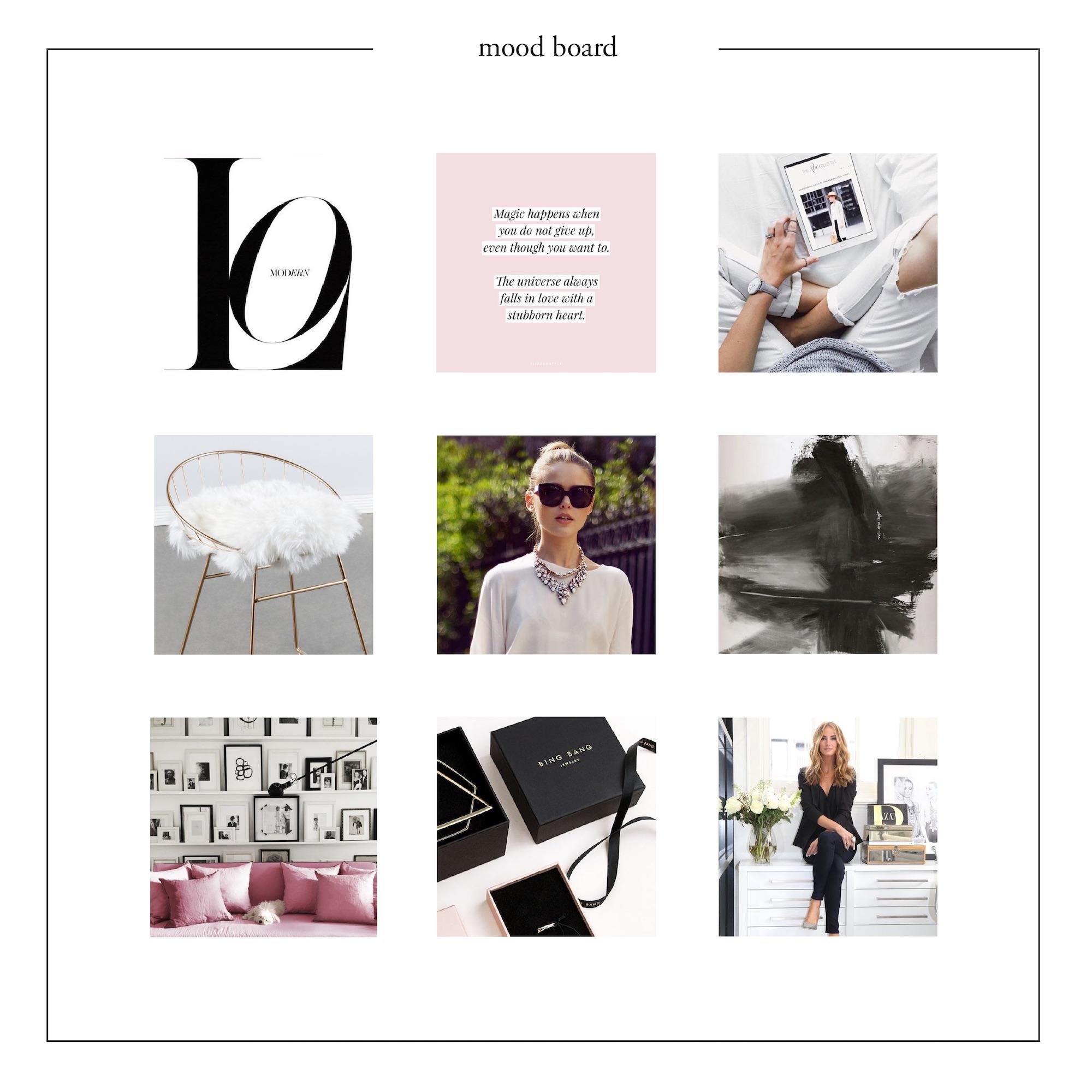 Mood & brand board