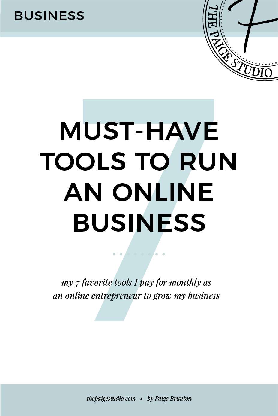 7 must-have tools to run a small online business for entrepreneurs looking to grow.png