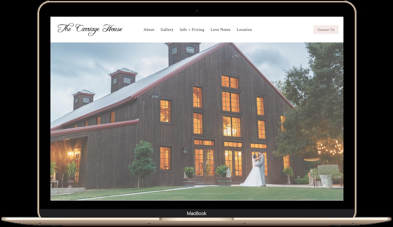 wedding venue website design example built on squarespace.png