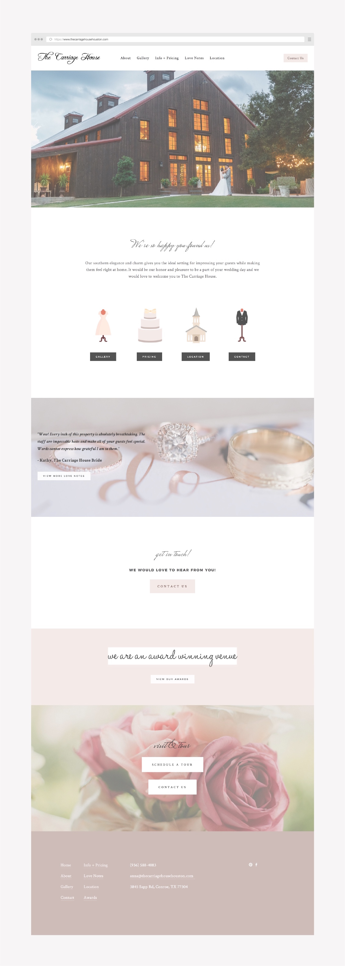 squarespace example website - wedding venue vendor.jpg