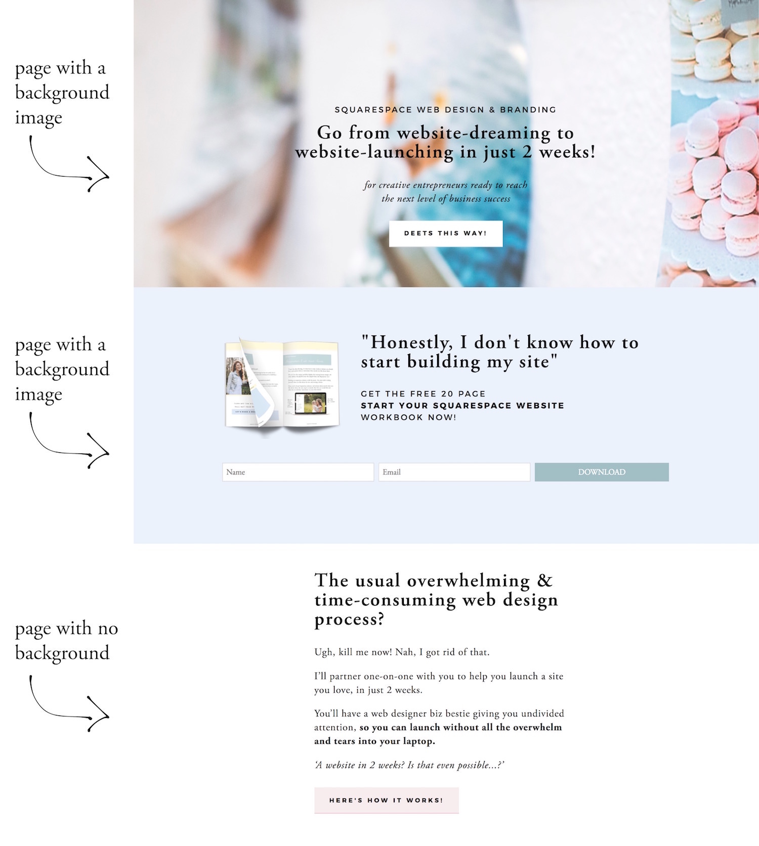 changing the background color of a section or individual page in Squarespace.jpg