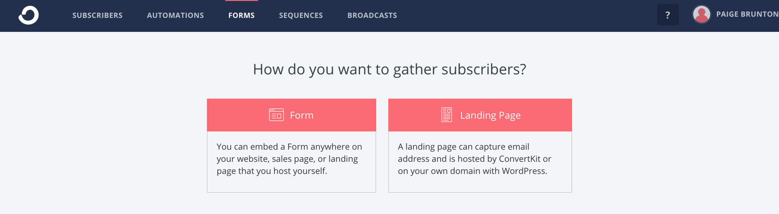Creating a form that can be embedded on site.png