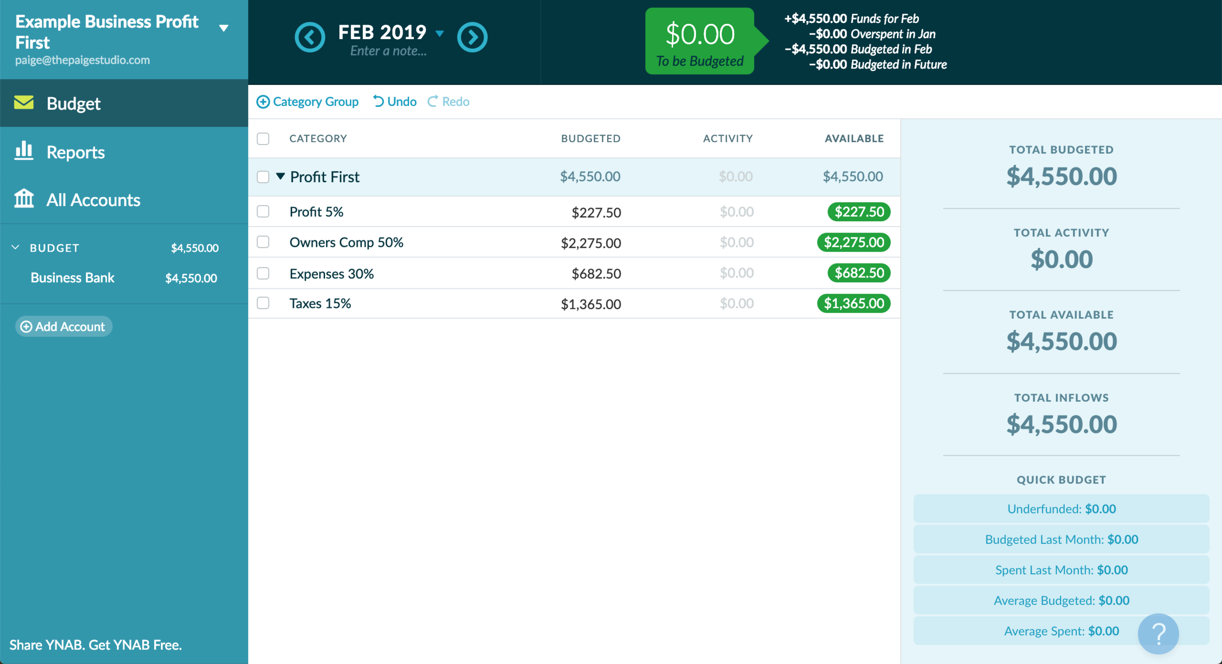 How I manage the finances of my online business & save for