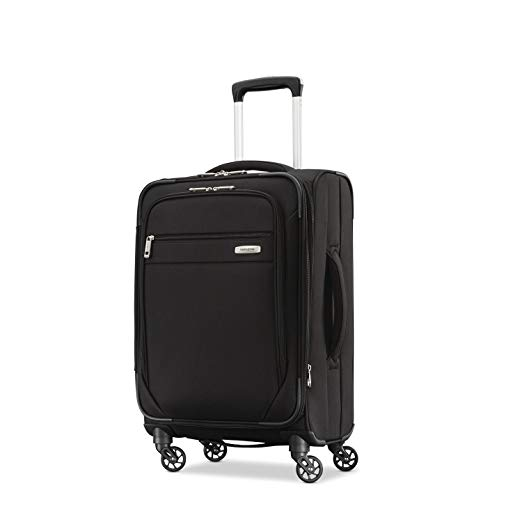 Black Samsonite Carry on suitcase bac how I pack travel