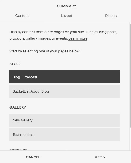 How+to+completely+redesign+your+Squarespace+blog+page