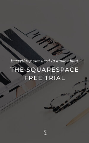 Everything you need to know about the Squarespace free trial — Paige  Brunton | Squarespace templates + Squarespace designer courses