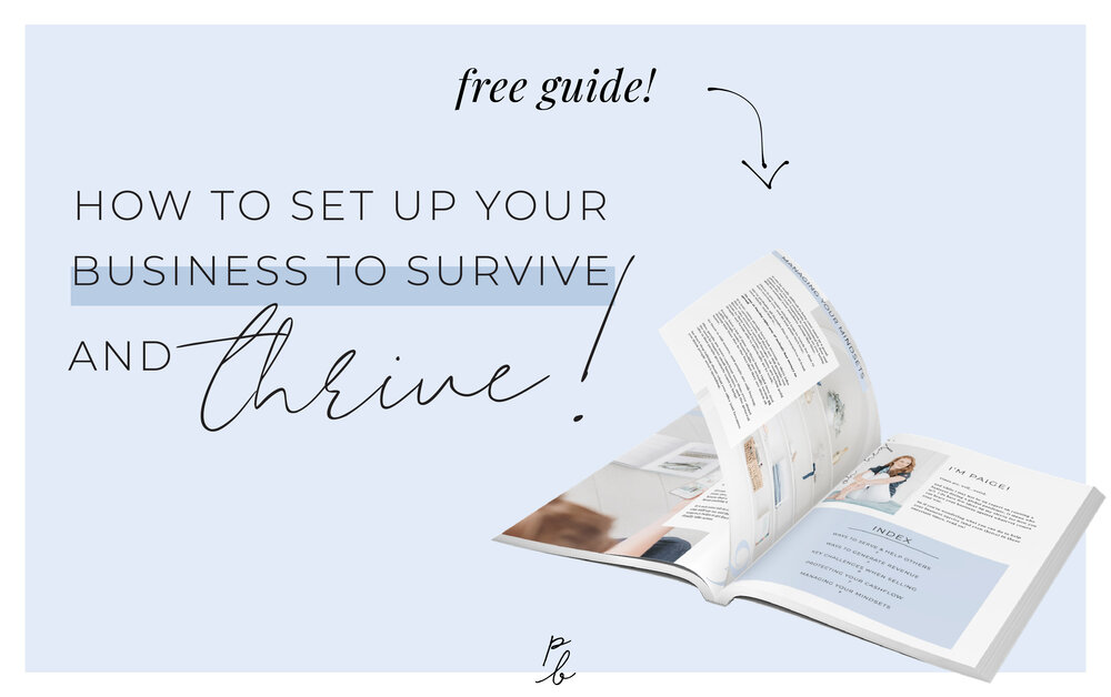 How to set up your business to survive and thrive