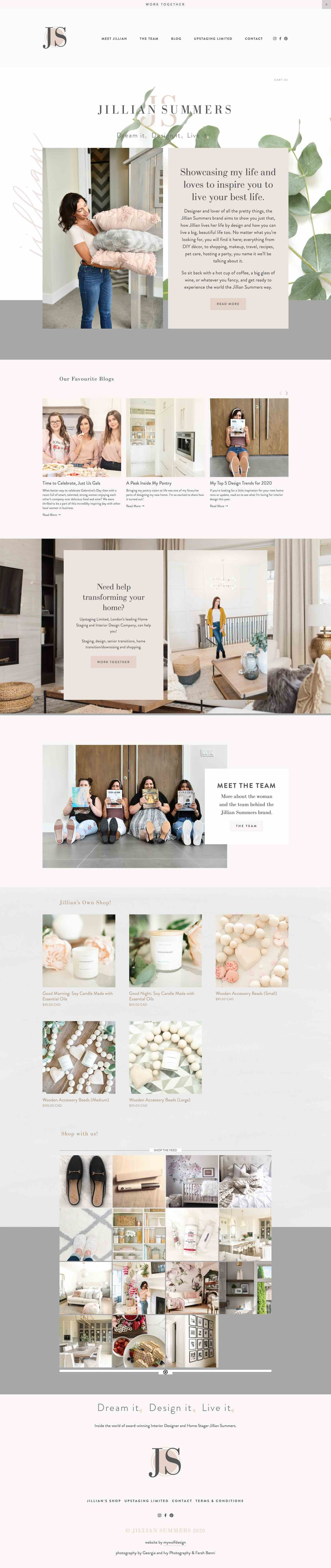 20 Best Example Squarespace Websites Blog Edition Paige Brunton Squarespace Templates Squarespace Designer Courses