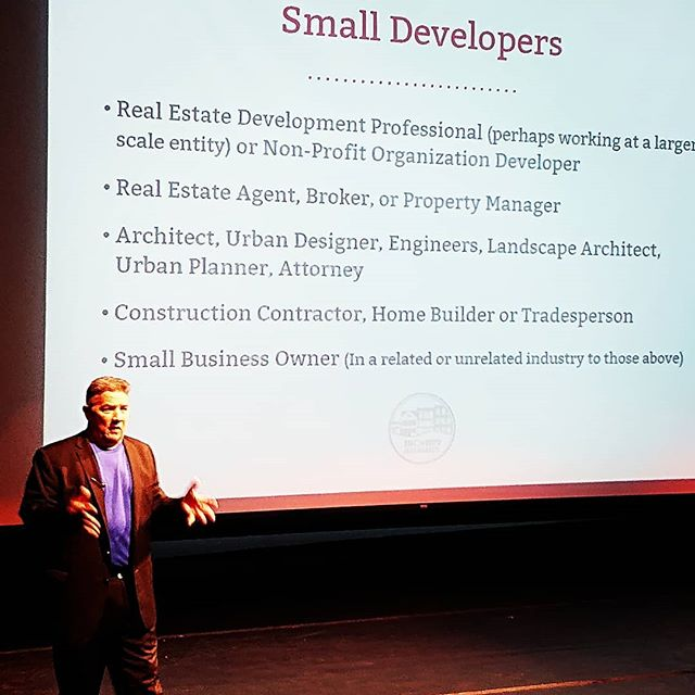 @sfcdc just did two great recruiting events with Monty Anderson for small developer training in Nov. Register at @incrementaldev website now!
