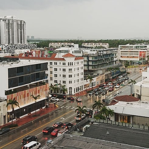 """Missing middle""...not so missing in Miami Beach, some old and new examples, and mixed-use."