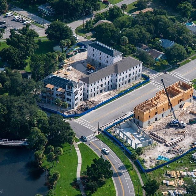 "Congrats to @frankstarkey of People Places on his progress building a beautiful incremental urban project ""The Central"" in New Port Richey, Florida!"
