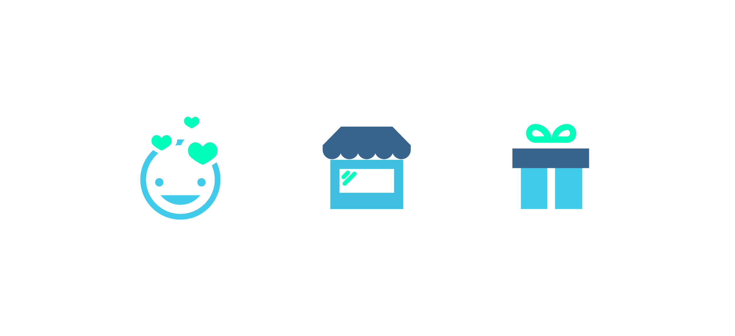 Icon set for Home Page