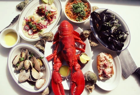 A responsibly-sourced feast from  Greenpoint Fish & Lobster , Brooklyn, NY
