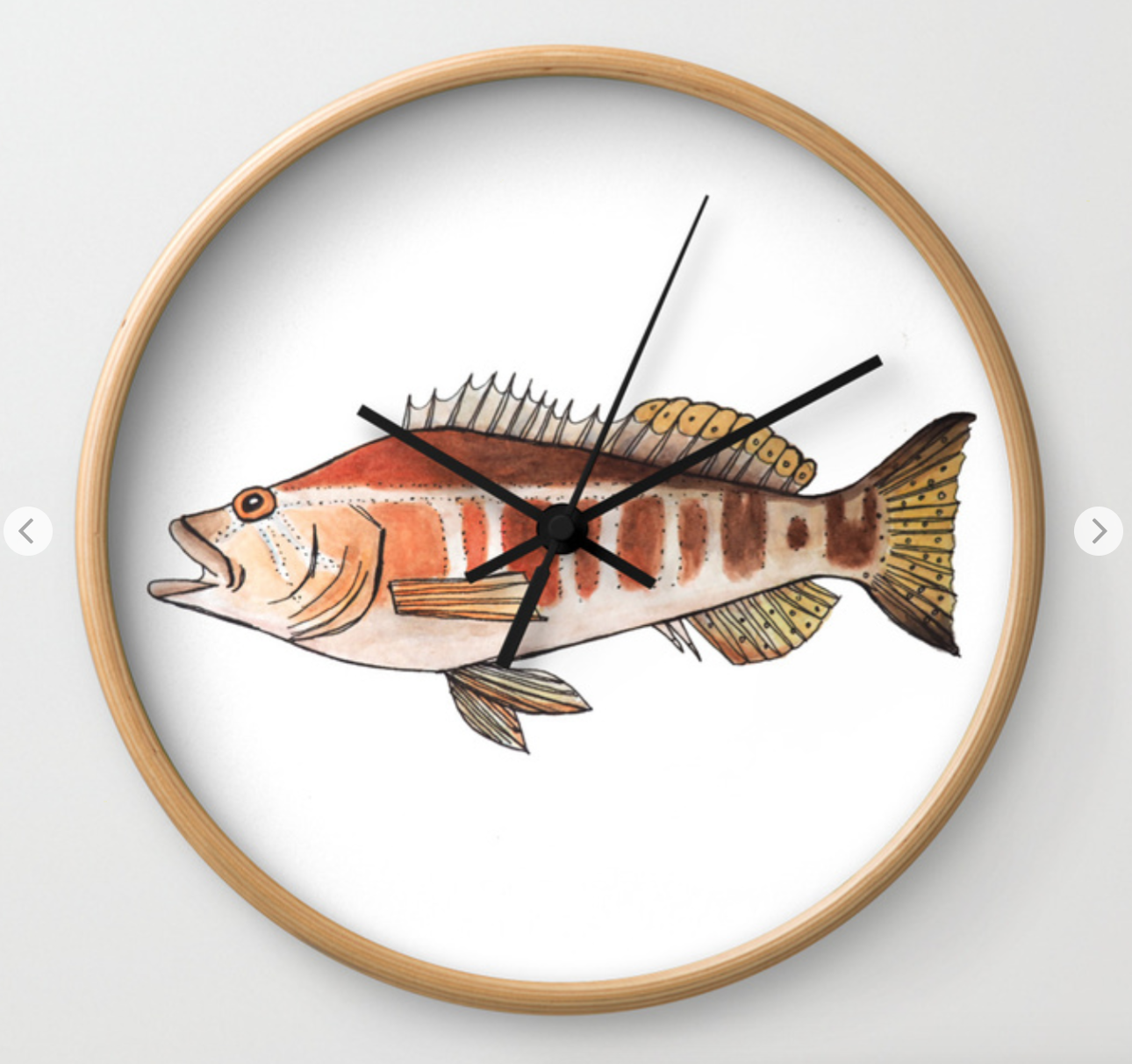 Blacktail Comber clock