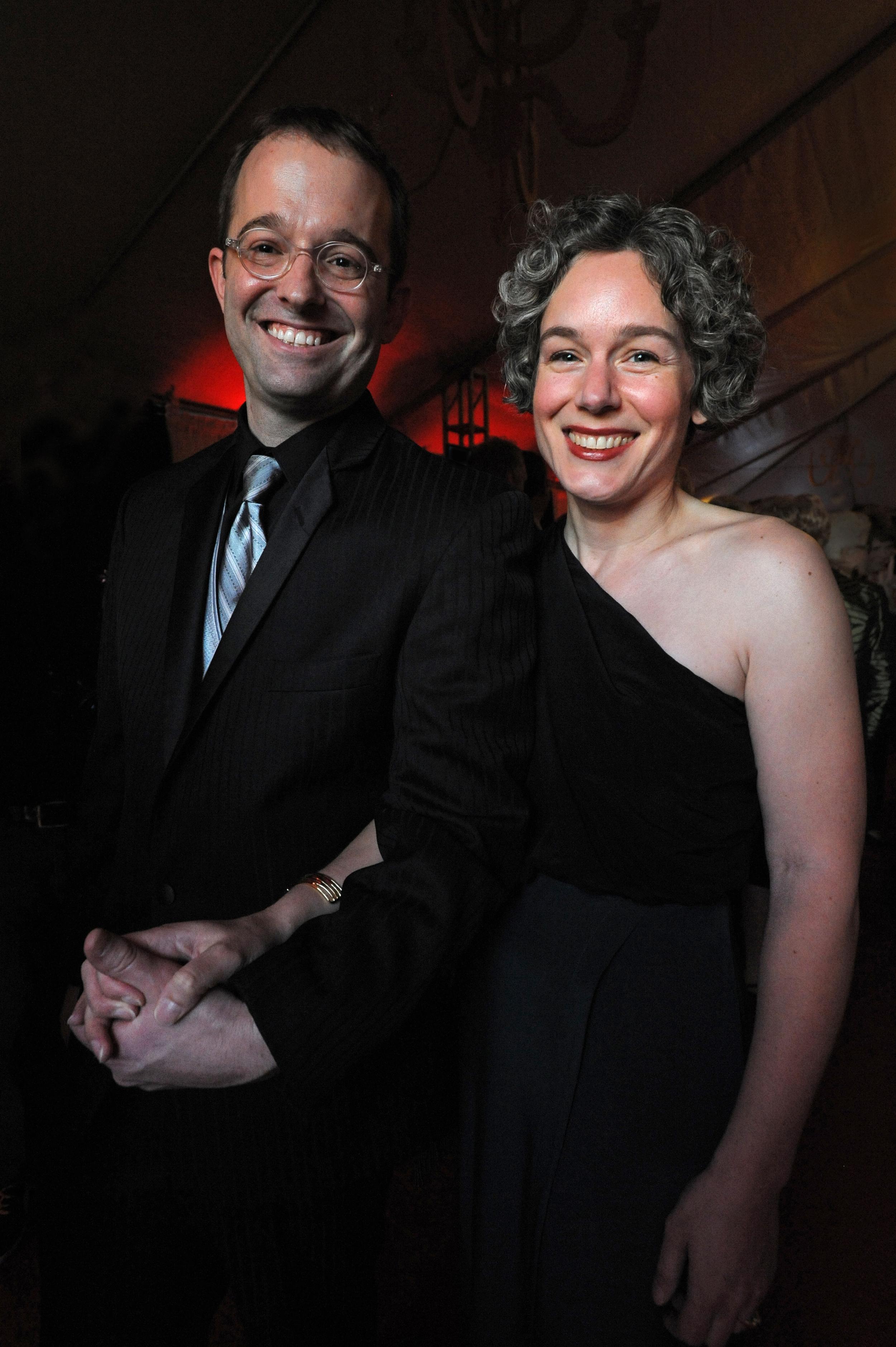 RFC executive director Alexandyr Kent and his wife, Kate Archer Kent.