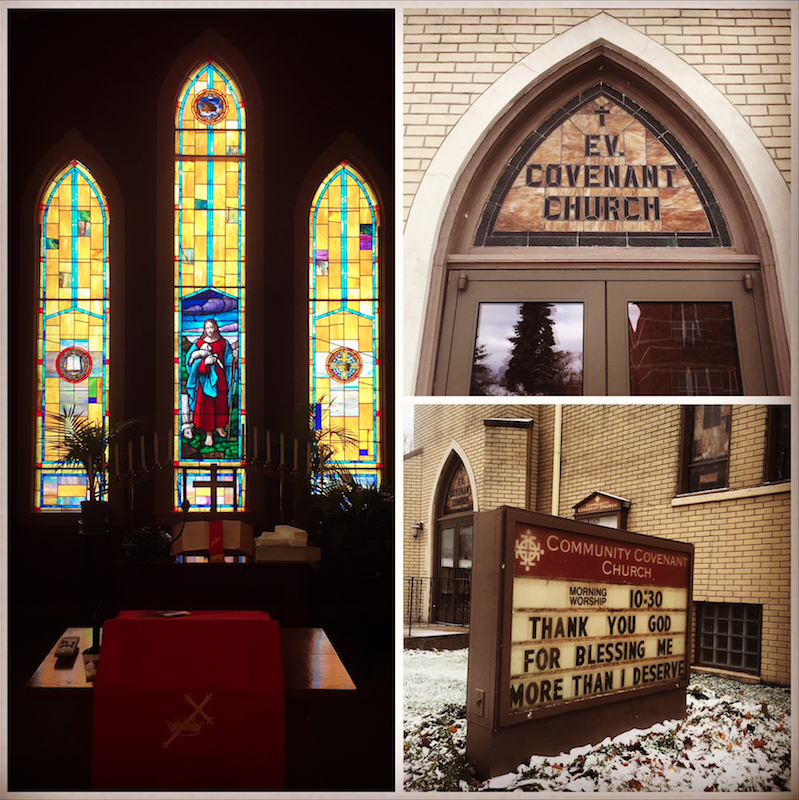 Community Covenant Church, Menominee, MI. Home of Green Bay Packer fans and unparalleled hospitality.