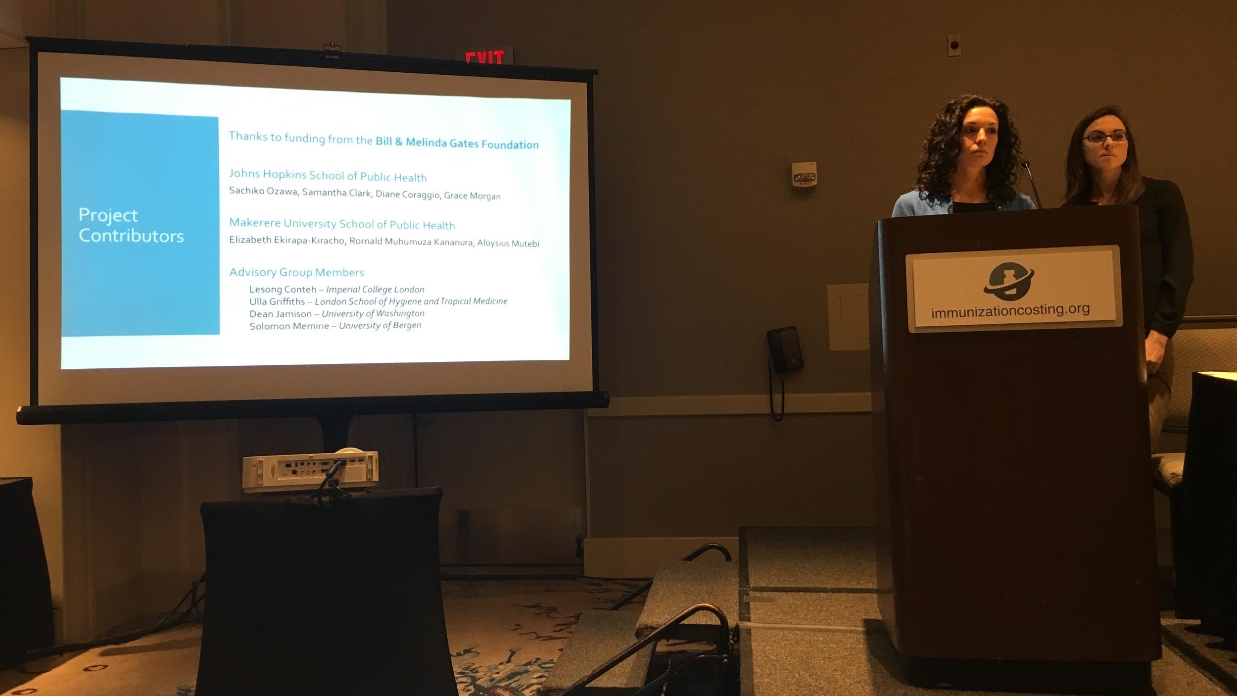 Diane Coraggio, Grace Morgan, Sachiko Ozawa (remote) - Survey tools to estimate cost of treatment and productivity loss for vaccine preventable diseases