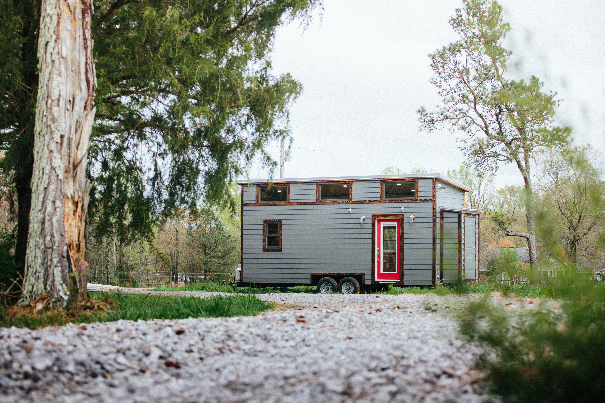 The Chimera by Wind River Tiny Homes. Exterior.