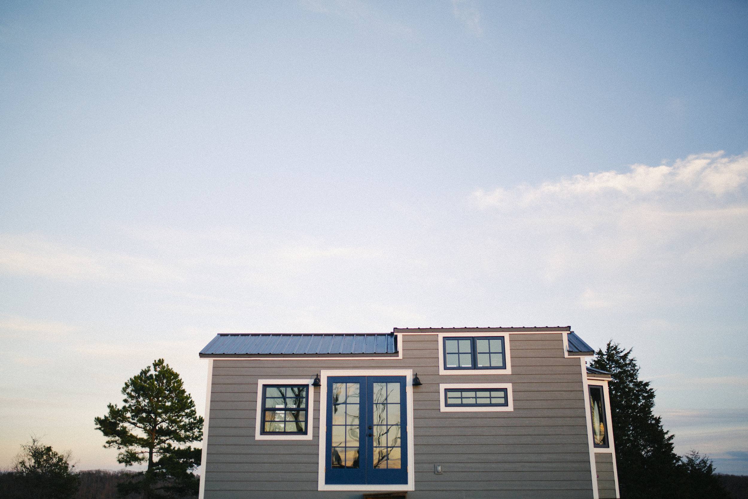 The Monocle by Wind River Tiny Homes - LP smartside, metal roof, aluminum clad windows