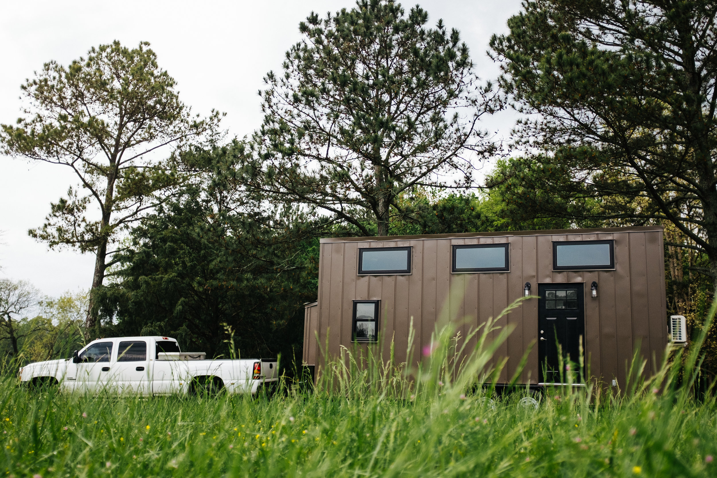 The Ironclad by Wind River Tiny Homes - industrial, modern, metal siding