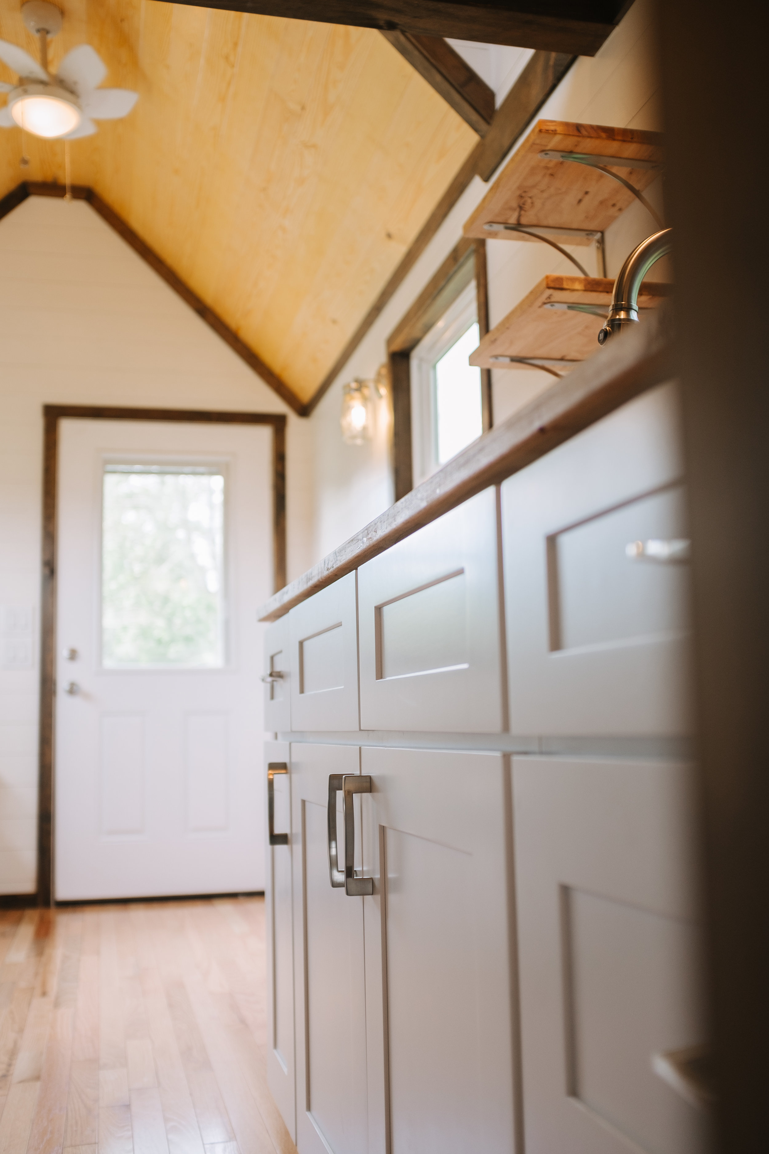 The Acadia by Wind River Tiny Homes - tiny house, ship lap, shaker cabinets