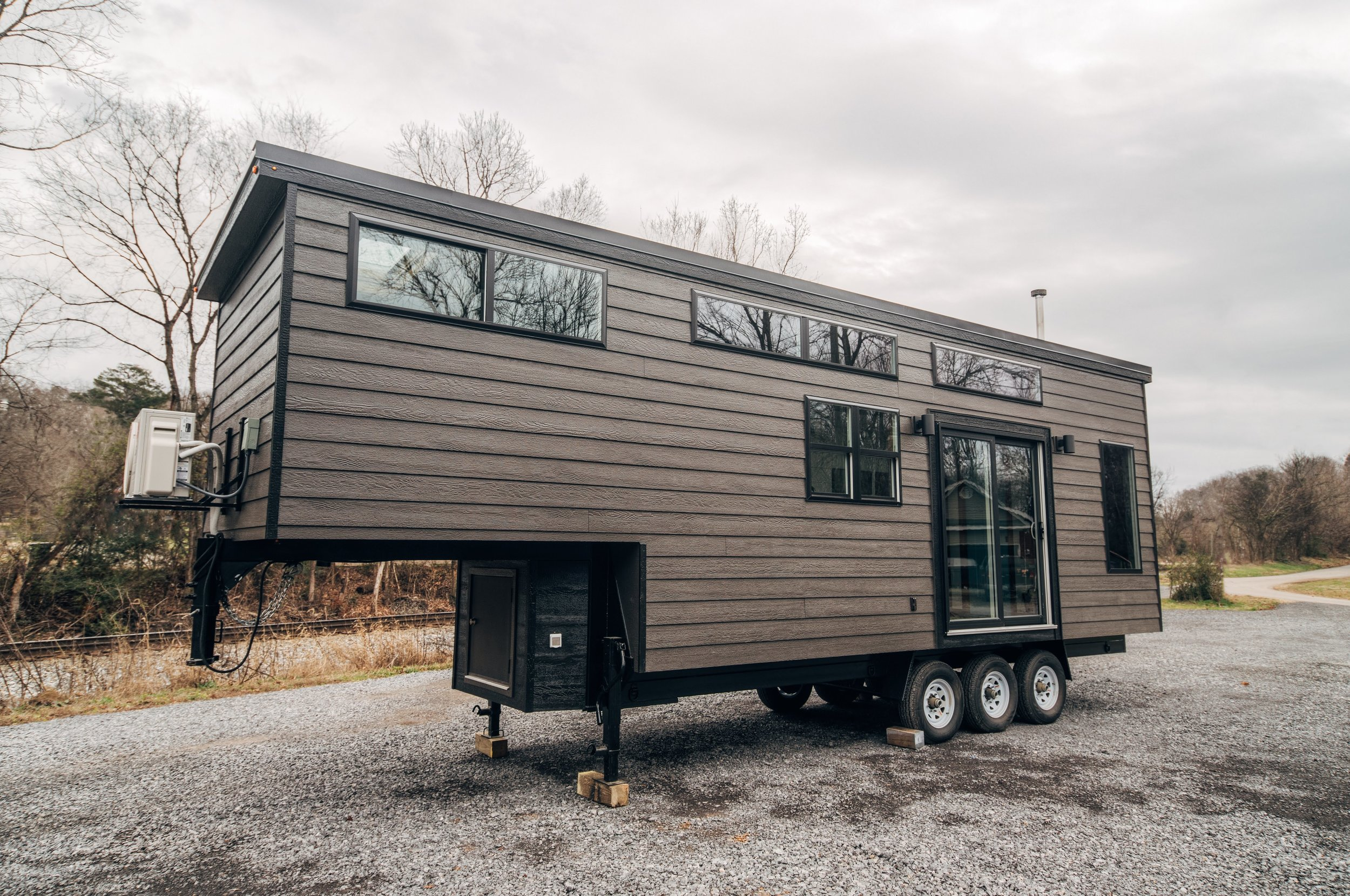 The Lupine Gooseneck Tiny House by Wind River Tiny Homes