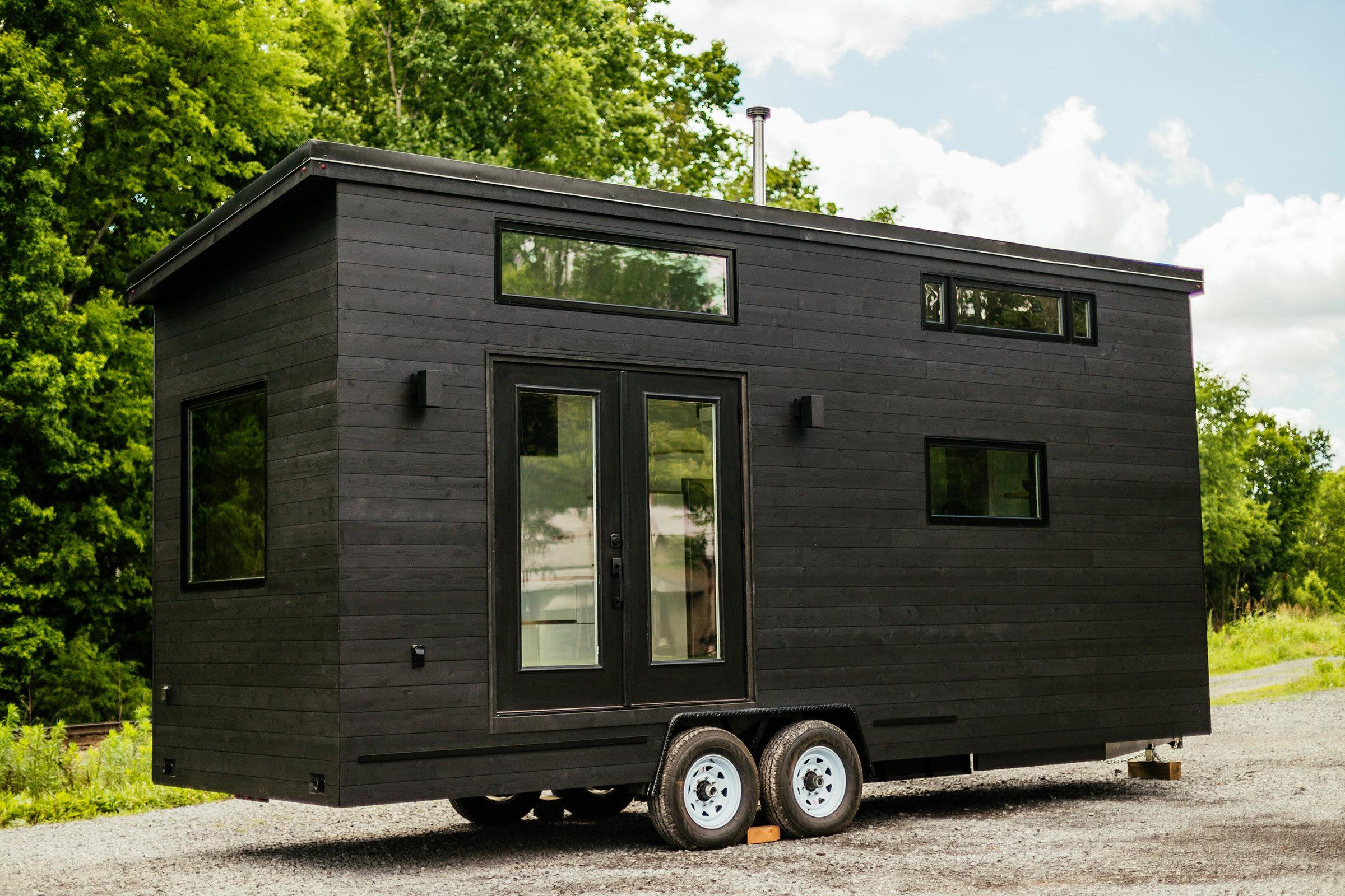 The Kubrick by Wind River Tiny Homes, a modern minimalist tiny house