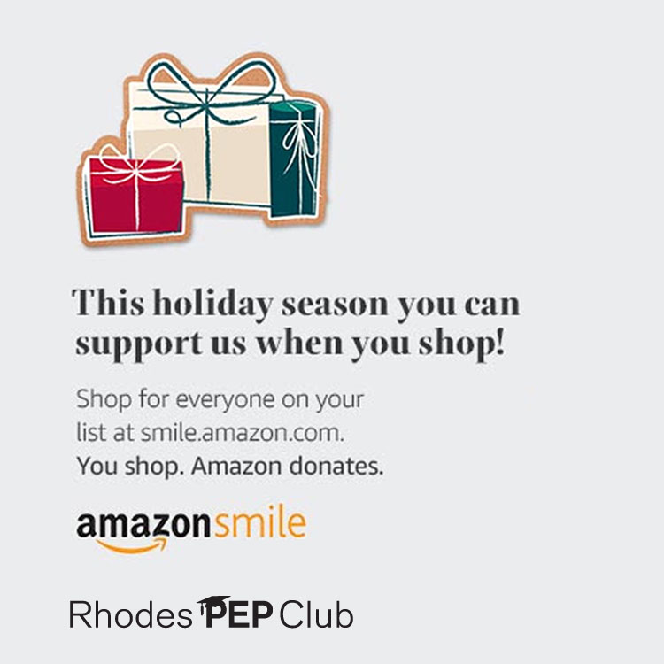 Wrap-up your holiday shopping at    smile.amazon.com/ch/57-1183960    and Amazon donates to Edwin Rhodes Elementary Parent Faculty Association (that's us!)