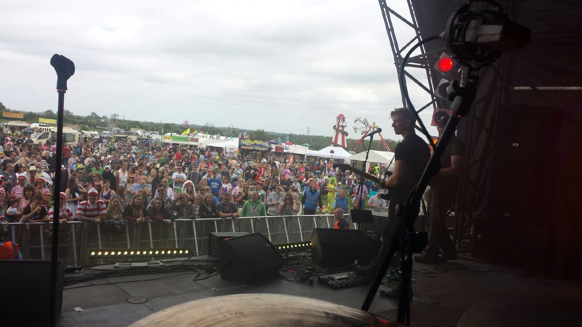Me onstage at Glasto!