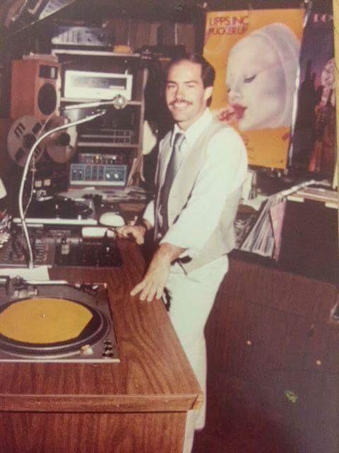 DJ MC and owner David Brown