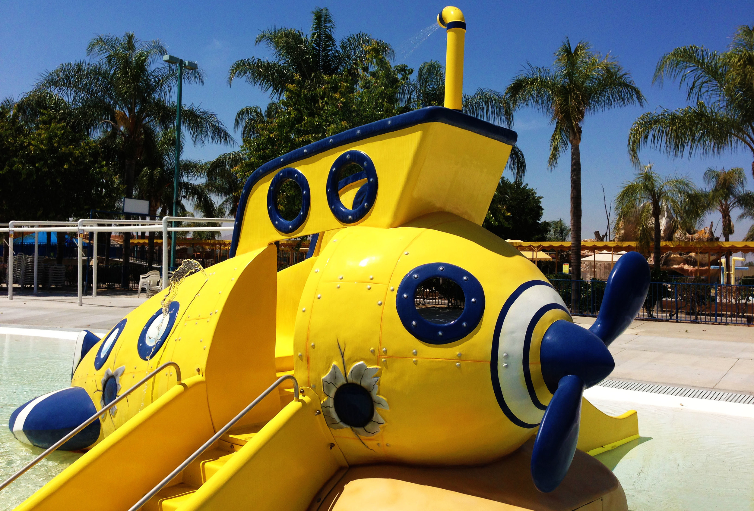 Toddlers absolutely love The Yellow Submarine -- and it's conveniently located in Castaway Cove so parents win, too!