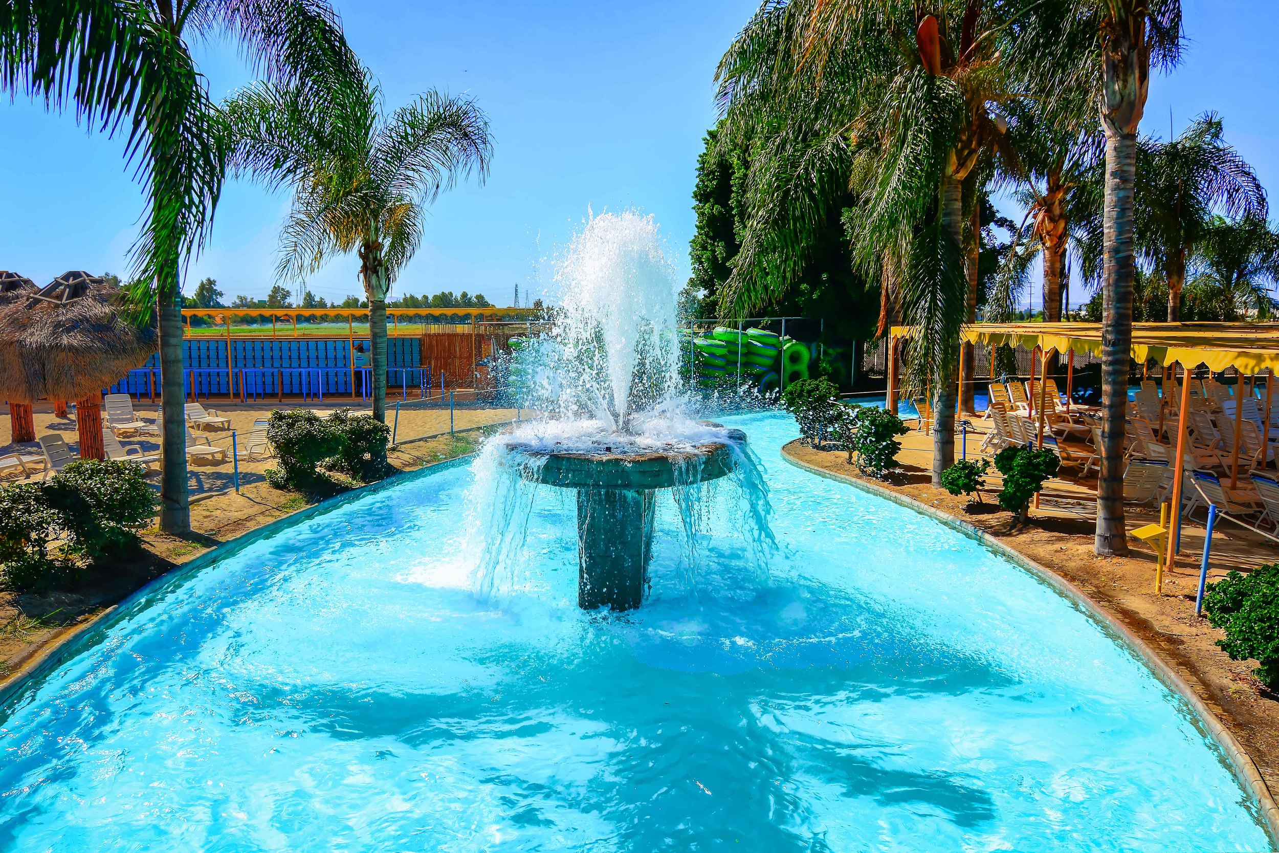 A quarter-mile of sheer relaxation awaits you and the family in The Nile River. Try keeping count of how many times you make it around -- its harder than it sounds!