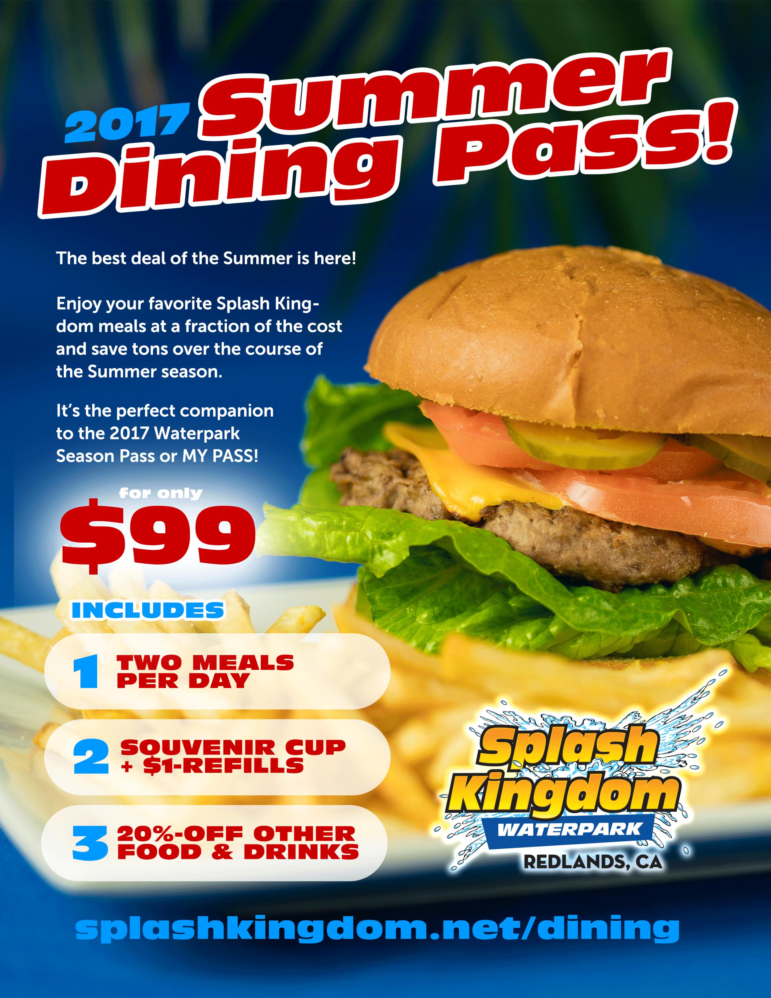 2017-splash-kingdom-waterpark-summer-dining-pass