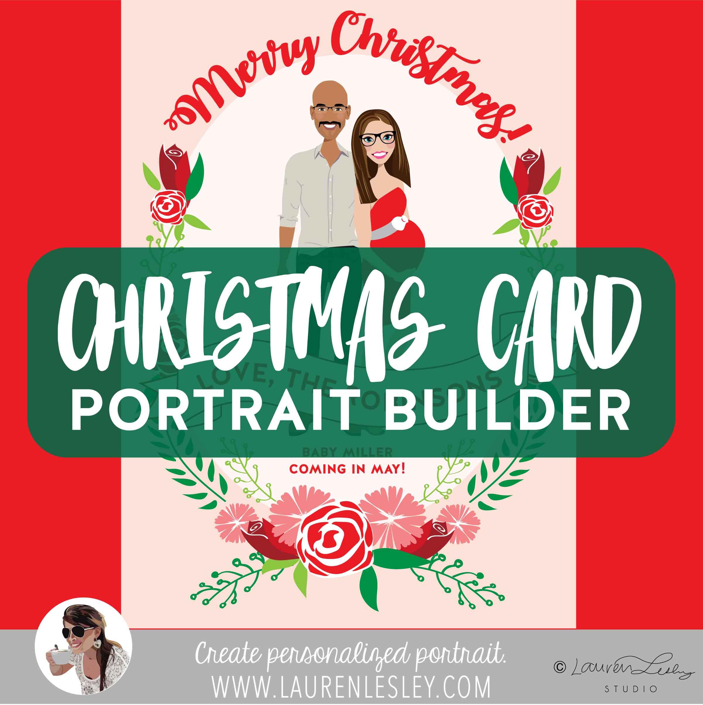 Christmas Portrait Builder
