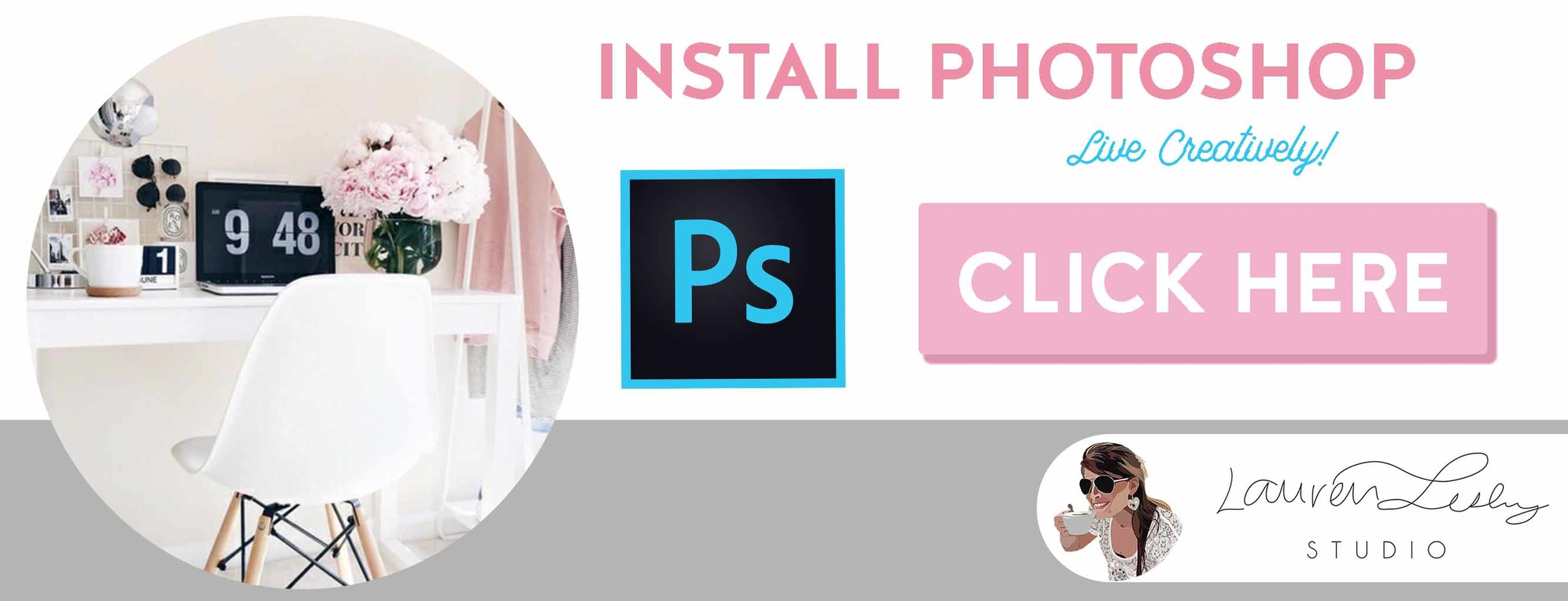 Install PhotoShop