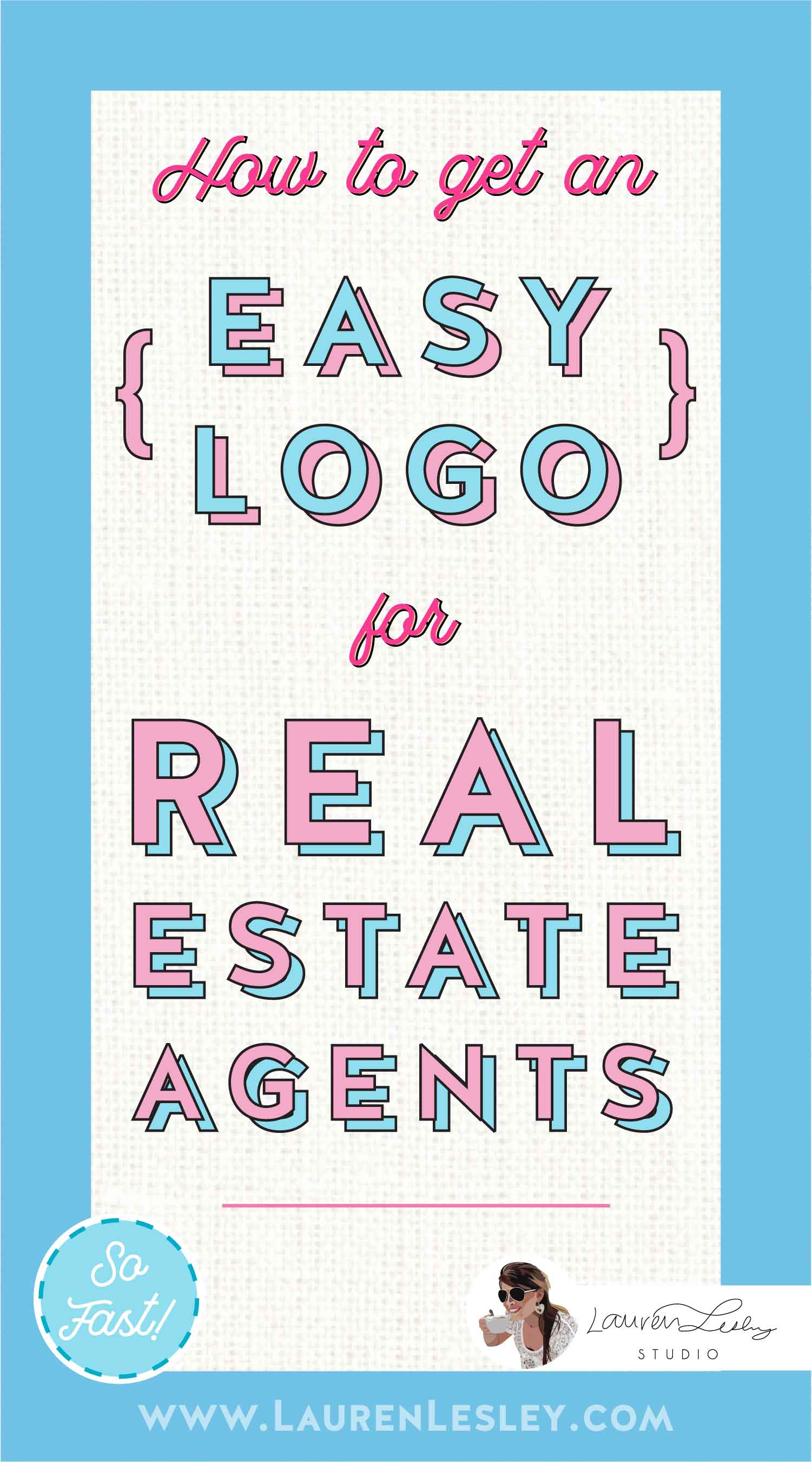 Real Estate Agent Marketing Logo Graphics