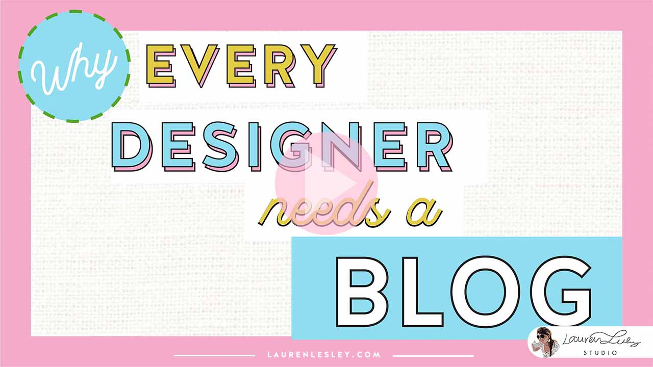 Why Every Designer Needs a Blog