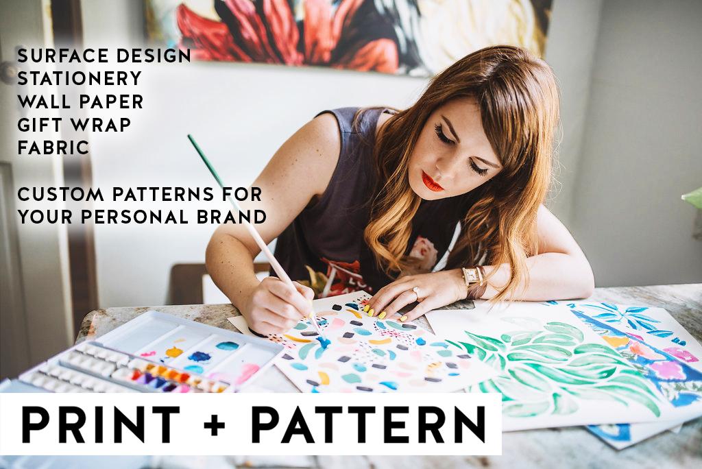 Print + Pattern + Surface Design
