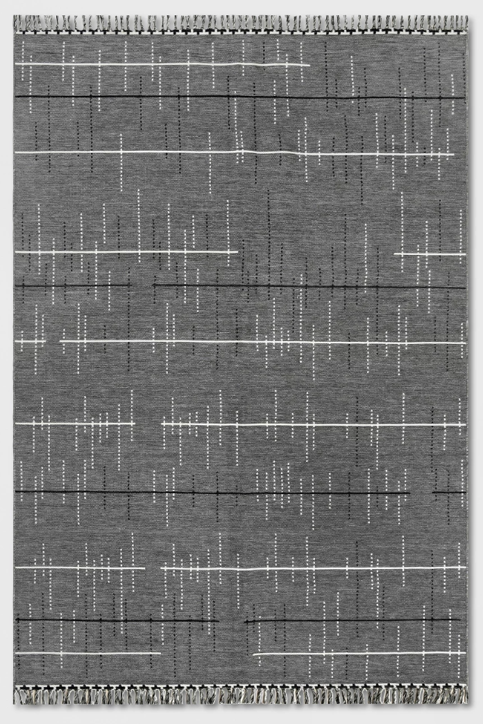 Linden Stripe Outdoor Rug Gray - Project 62™