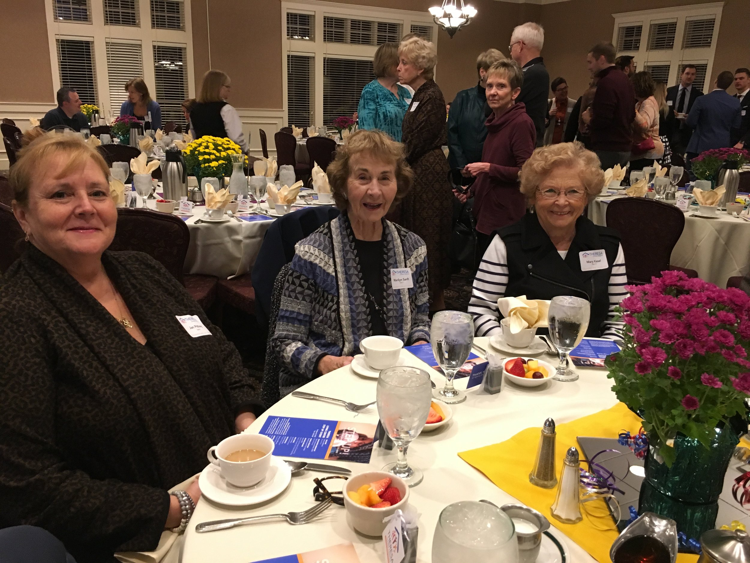 Jan Pithey, Marilyn Sanft, and Mary Kasel.