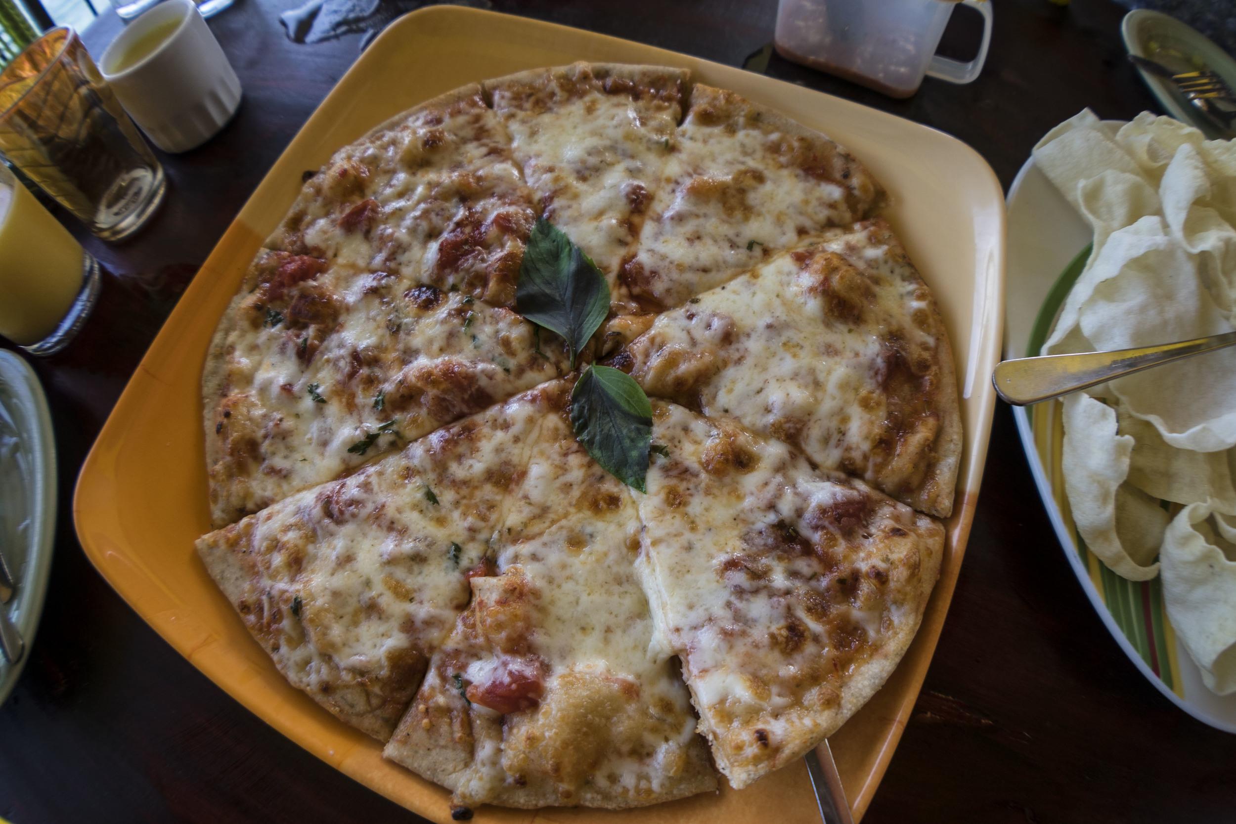 spicy honey pizza