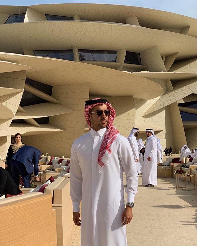في افتتاح #متحف_قطر_الوطني 🇶🇦❤️ أيقونة معمارية و إرث تاريخي @NMoQatar #QatarCreates