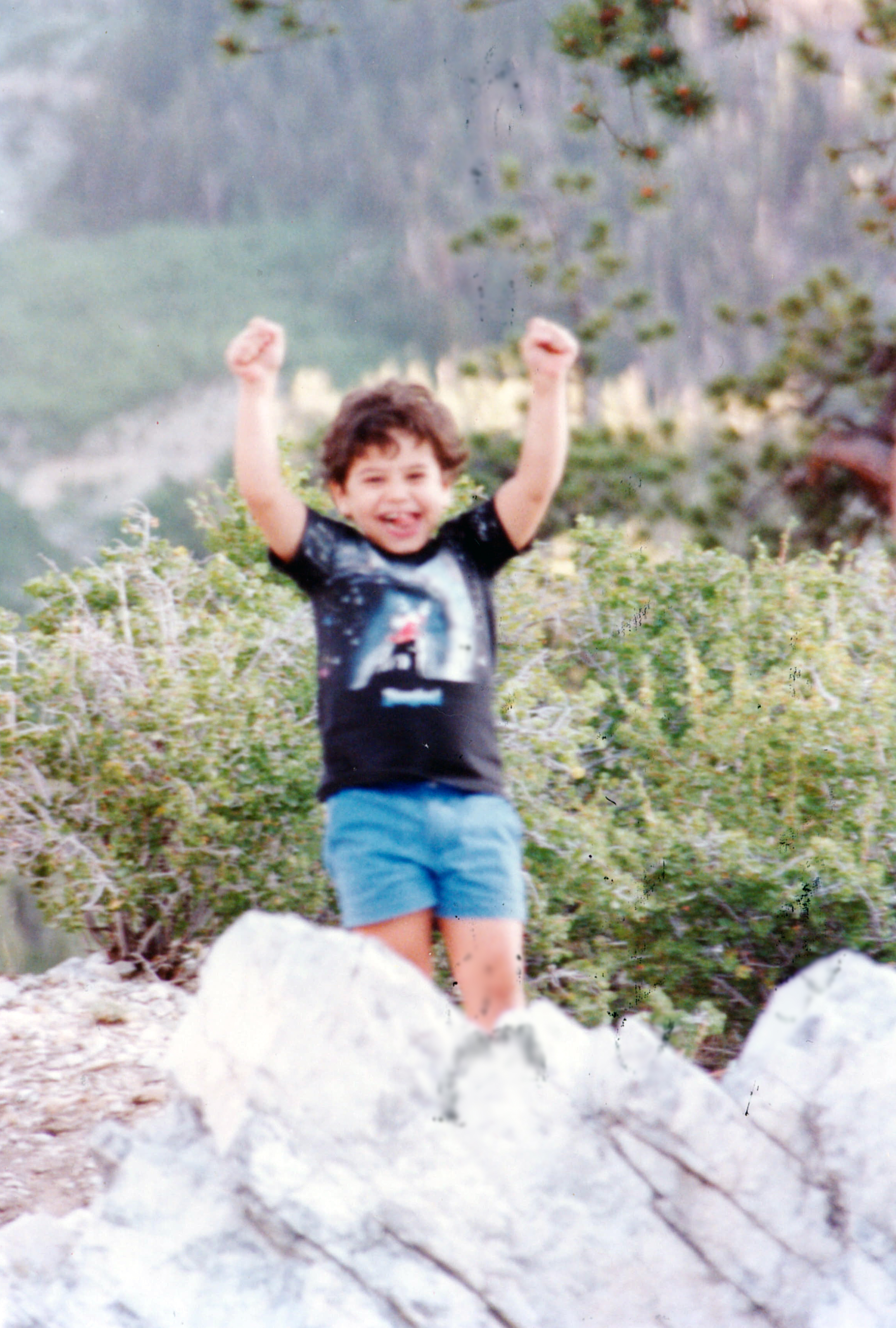 Young Christian at Mt. Charleston